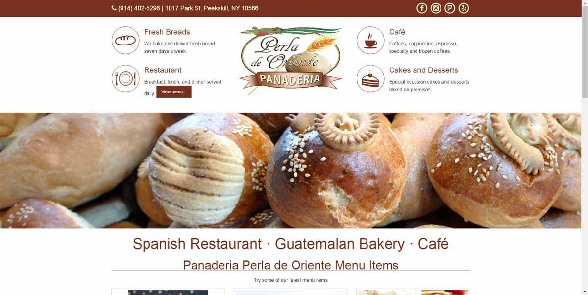 Local Bakery Website