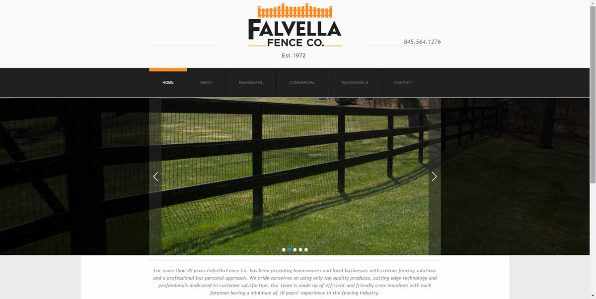 Falvella Fence Website